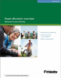 Fidelity asset allocation front page